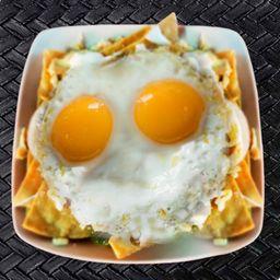 Chilaquiles con Huevos
