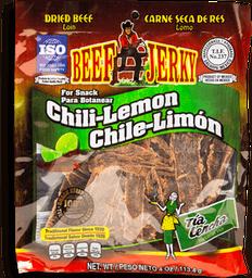 Carne de Res Tía Lencha Seca Chile Limón Paquete 113 g