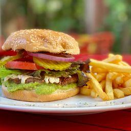 Total Vegan Piola Burger