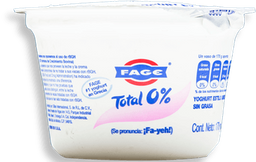 Yoghurt Fage Total 0% Estilo Griego Natural sin Grasa 170 g