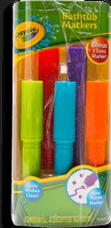 Marcador Crayola Para Bañera Varios Colores 4 U