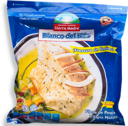 Filete de Pescado Blanco Nilo Natural 400 g