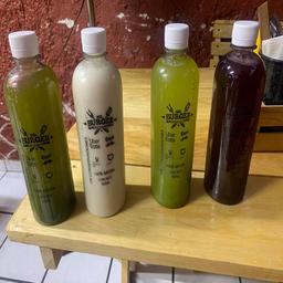 Agua de Hierbabuena/ Fresa & Limon