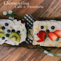 Panqué de Limón y Blueberry