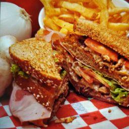 Club Sandwich Papa Fou