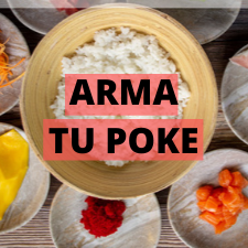 Arma tu Mini Poke Bowl