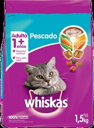 Alimento Para Gato Adulto Whiskas Pescado 1.5 Kg