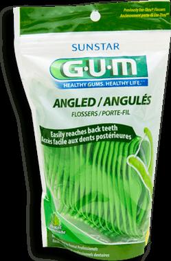 Gum Palillos Con Hilo Dentalangulados