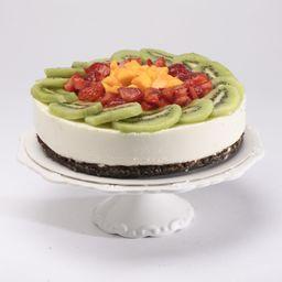 No-bake Cheesecake Fruta De Temporada