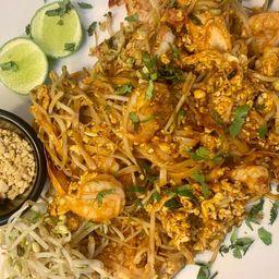Wok 25 Phad Thai Vegetales