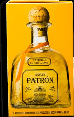 Tequila Patrón Añejo Botella 750 mL