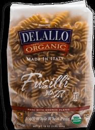 Pasta Deallo Fusilli de Sémola Integral Orgánico 454 g