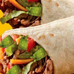 Mega Burrito de Carne de Puntas de Res