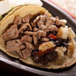 Taco Ranchero de Bistec