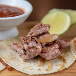 Tacos de Arrachera (orden de 3)