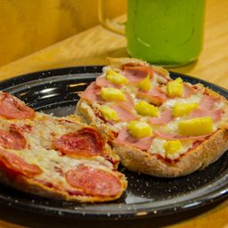 Pizzalletes Hawaianos