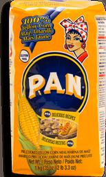 Harina P.A.N. Precocida de Maíz Blanco Amarilla1 Kg