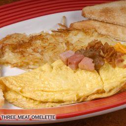 Omelette 3 Carnes