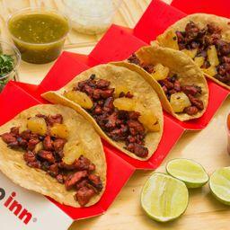 4 Tacos Pastor