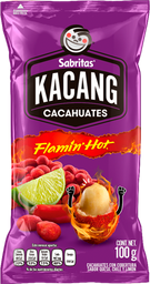Kacang Sabrit Flamin Hot 100Gr