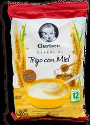 Gerber Cereal/Trig/Miel Et3 300 g. Polvo Bsa