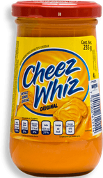 Queso Cheez Whiz Fundido Original  Untable  235 g