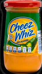 Queso Fundido Cheez Wizz con Jalapeño Untable 235 g