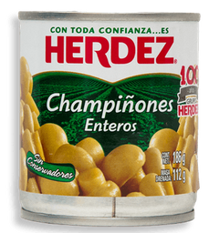 Champiñones Herdez Entero 186 g