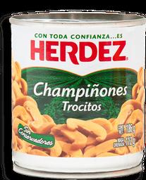 Champiñones Herdez en Trocitos 186 g