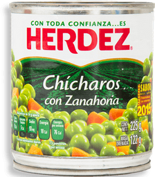 Herdez Ensalada Chicharos Con Zanahorias