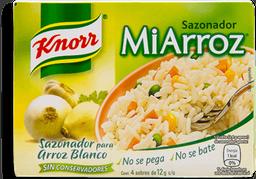 Sazonador Knorr Mi Arroz Blanco 4 U