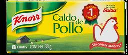 Caldo de Pollo Knorr en Cubo 8 U