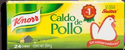 Caldo de Pollo Knorr en Cubo 24 U