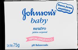 Jabón de Tocador Johnson's Baby 75 g