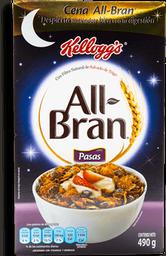 Cereal All Bran Con Pasas 490 g