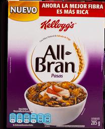 Cereal All Bran Con Pasas 285 g