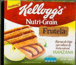 Barra de Manzana Nutri Grain Frutela 222 g