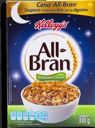Cereal All Bran Manzana Crunch  330 g
