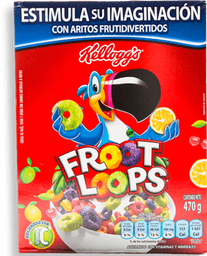 Cereal Froot Loops Caja 470 g