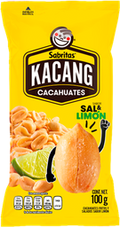 Cacahuate Sal y Limón Kacang 100 g