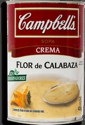 Campbells Crema Flor de Calabaza