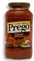 Salsa Para Pasta Prego  Sabor Carne 680 g