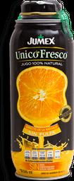 Jugo Jumex Unico Fresco Naranja Sin Pulpa Latón 500 mL