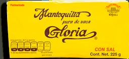 Mantequilla Gloria con Sal 225 g