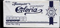 Mantequilla Gloria sin Sal Gourmet 225 g