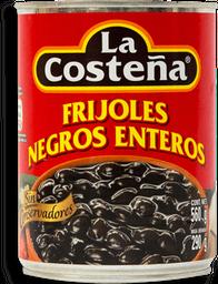 Frijoles La Costeña Negos Enteros 560 g