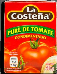Puré de Tomate La Costeña Condimentado 210 g
