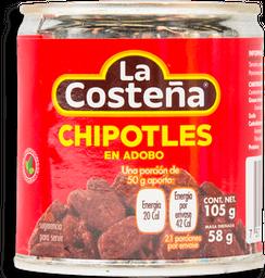 Chiles Chipotles La Costeña en Adobo 105 g