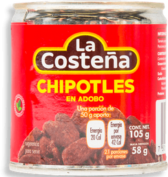Chiles Chipotles La Costeña en Adobo 105 g