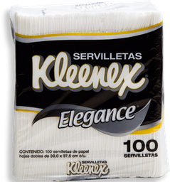 Servilleta Desechable Kleenex Elegance 100 U